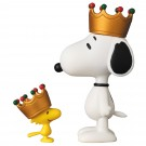 UDF CROWN SNOOPY & WOODSTOCK メディコム・トイ