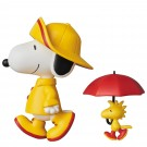 RAIN COAT SNOOPY & WOODSTOCK メディコム・トイ