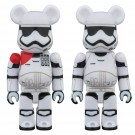 FIRST ORDER STORMTROOPER OFFICER & FIRST ORDER STORMTROOPER 2PACK メディコム・トイ